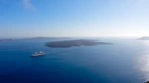 View over the caldera