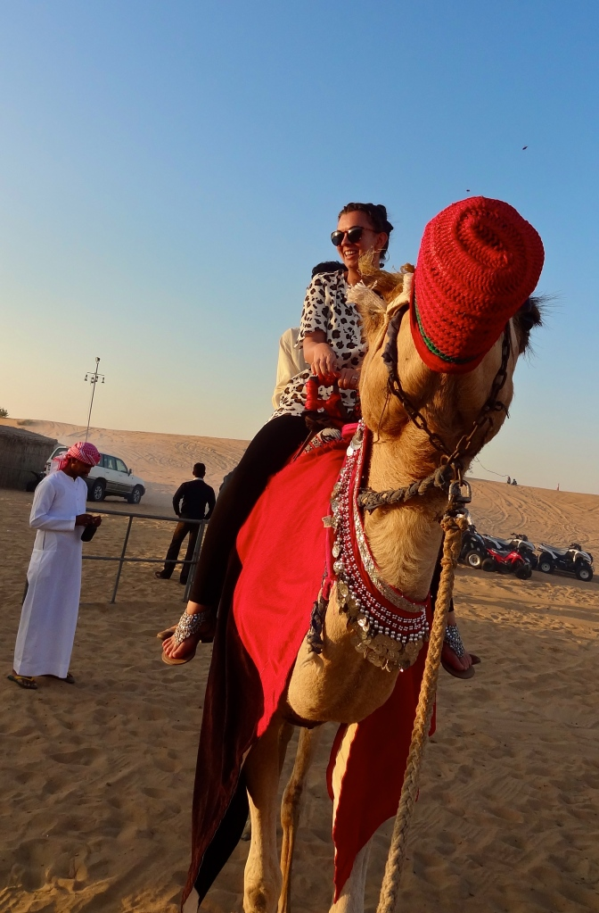 Camel ride on the Desert Safari