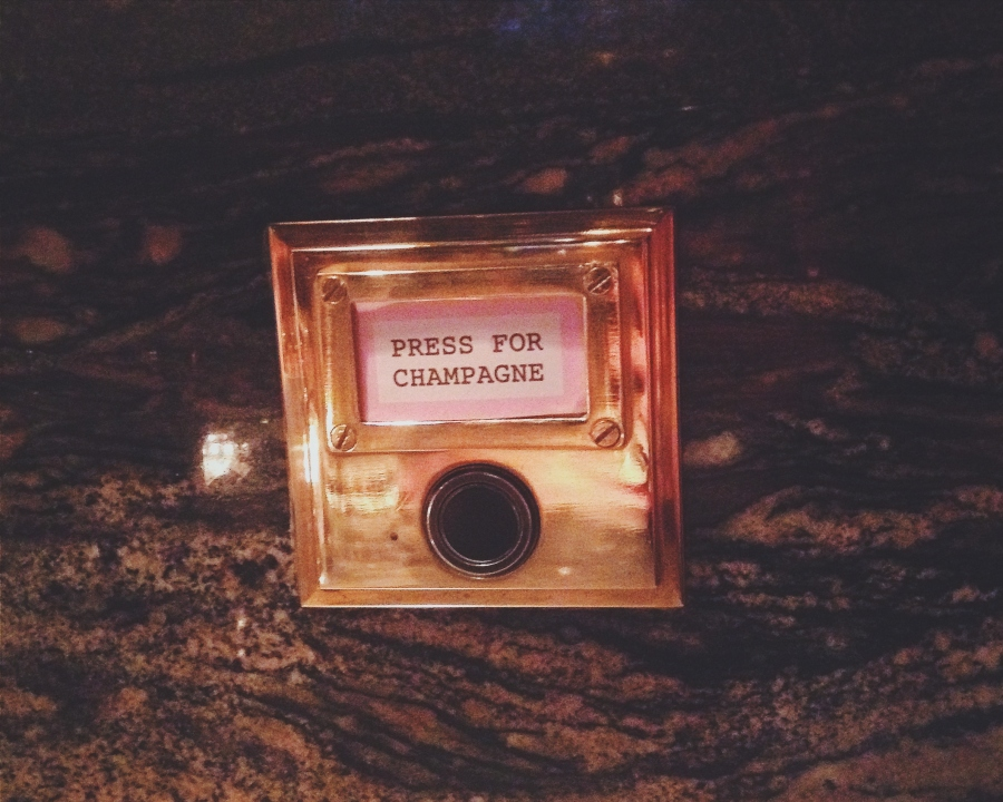 A button for Champagne!