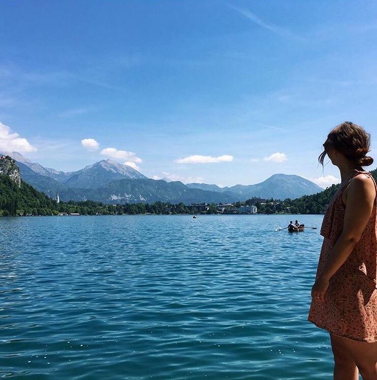 Lake Bled scenery